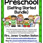Preschool {Getting Started Bundle}