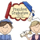 Preschool Graduation Kit