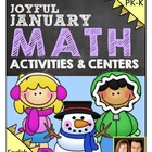 Preschool & Kindergarten Common Core Math Pack for January