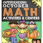 Preschool & Kindergarten Common Core Math Pack for October
