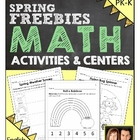 Preschool &amp; Kindergarten Common Core Spring Math Activitie