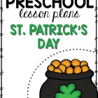 Preschool Lesson Plans- St. Patrick's Day