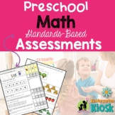 Preschool Math Common Core Assessment: Preparing Preschool