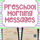 Preschool Morning Messages
