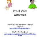 Preschool Verb (Pronoun/Preposition) Activities