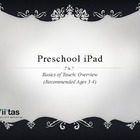 Preschool iPad: Basics of Touch