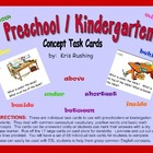 Preschool/Kindergarten Task Cards