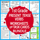 Present Tense Verbs-First Grade Common Core Lesson