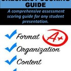 Presentation Checklist & Scoring Guide