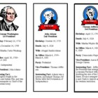 President Facts book marks