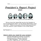 President Project - Student Instructions