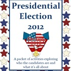 Presidential Election 2012 Activities Packet