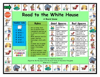 Presidential Election Board Game
