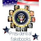 Presidential Fakebook Templates for All 44 Presidents!!!