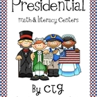 Presidential Math and Literacy Centers for President's Day