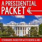 Presidential Packet - Writing + Reading + Math