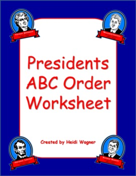 Presidents - ABC Order