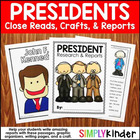 Presidents Craftivity Book