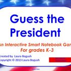 President's Day Activity: Guess the Presidents Smart Noteb