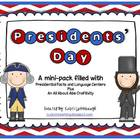 President's Day Activity Pack - Centers and a Craftivity