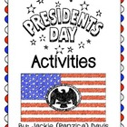 President's Day Activity Pack for Upper Grades