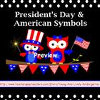 President&#039;s Day &amp; American Symbols for Promethean Board