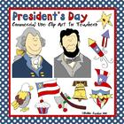 President&#039;s Day Clip Art for the Classroom and Commercial Use