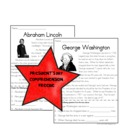 President&#039;s Day Comprehension Set