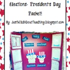 President's Day - Elections { Craftivity }