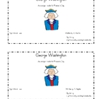 President&#039;s Day Emergent Reader: George Washington