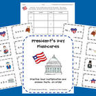 President's Day Flashcard Center (Multiplication/Division)