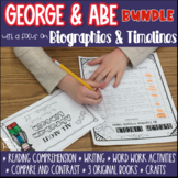 President's Day Fun: George Washington and Abe Lincoln