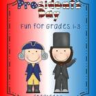 Presidents Day Fun New!