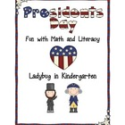 President&#039;s Day Fun with Math and Literacy