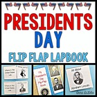 President&#039;s Day Lapbook and Foldables - A Flip-Flap Book