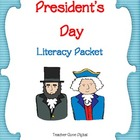 President&#039;s Day Literacy Packet