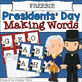 President's Day Making Words Freebie