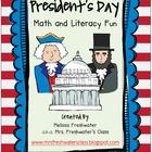 President&#039;s Day Math &amp; Literacy Fun