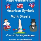 President&#039;s Day Math Sheets