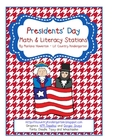 Presidents' Day Math and Literacy Work Stations