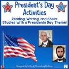 President's Day Mini-Books, Learning Activities and Games