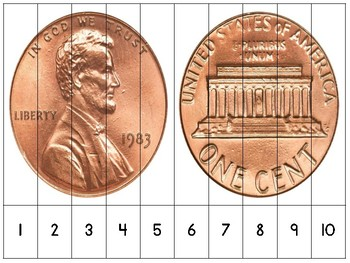 Presidents Day Number Order and Skip Counting Puzzles