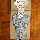 President&#039;s Day Obama Puppet