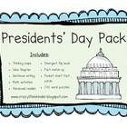 Presidents' Day Pack for the Primary Classroom