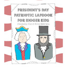 President's Day Patriotic Lapbook for Bigger Kids