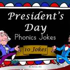 President's Day Phonics Jokes