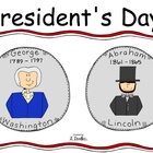 President's Day Sight Word Reader