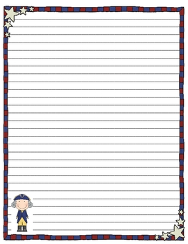 Presidents Day Stationary