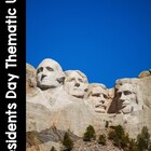 President&#039;s Day Thematic Literacy &amp; Math Activities