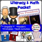 Presidents Day! Two Presidents  A Shared Reading Singable